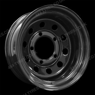 Set of 5 Steel Modular Wheels 16 x 10 5/165 Land Rover Defender