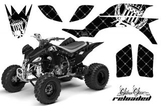 NEW ATV GRAPHIC OFF ROAD DECAL STICKER KIT YAMAHA YFZ 450 04 08 RWK