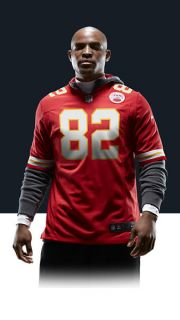 Dwayne Bowe Mens Football Home Game Jersey 468957_661_A_BODY