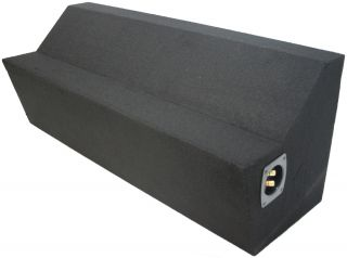 Custom Ford Mustang 05 12 Coupe Dual 10 Subwoofer Sub Box Bass Speaker
