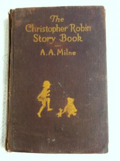 CHILDRENS BOOK CHRISTOPHER ROBIN STORY MILNE 1946 WINNIE POOH PICTURES