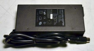 DUAL AC DC Adapter Power Supply 24V 5A, 12V 4A 180W 5 Pin DIN, Fan