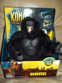 KING KONG 8th Wonder of the World ROARING ACTION FIGURE Playmates NEW