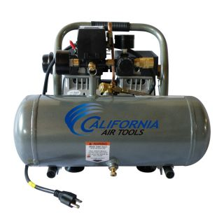 Air Tools 1650A Ultra Quiet Lightweight Oil Free Air Compressor
