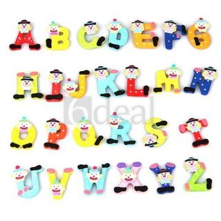 Magnetic Fridge Magnet Funky Creative 26 Alphabet Letters Xmas Gift