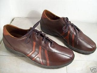 Vintage Allen Edmonds Traveler Brown Mens Leather Dress Shoes Oxford