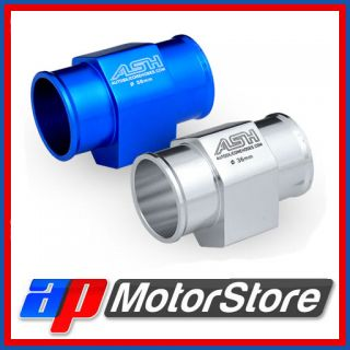 Alloy Water Temp Gauge Radiator Hose Sensor Adaptor Temperature Select