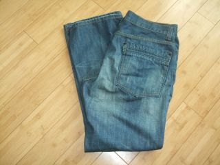 American Rag Mens Low Rise Boot Cut Jeans Size 36x32