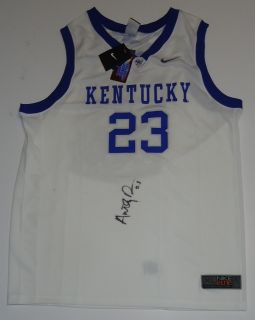 Anthony Davis Signed Kentucky Wildcats Jersey w COA A