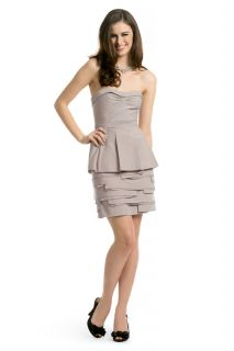 358 BCBG MAXAZRIA Annika Strapless Tiered Dress 4