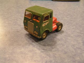 Antique Toy Truck Consolidated Freightways White Freightliner
