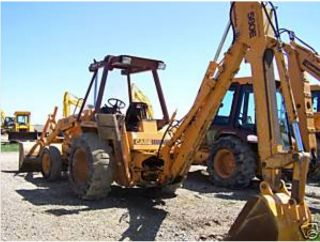 Case 580E & Super E TRACTOR Loader Backhoe SERVICE Repair MANUAL