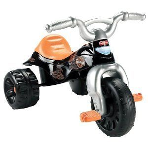 Price Harley Davidson Motorcycle Trike Boys Ride Toy 3 Wheel Bike Kids