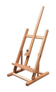 Deluxe 31 Wood Tabletop Artist Easel Art Supplies New