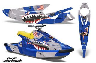 AMR RACING JET SKI GRAPHIC KIT WRAP YAMAHA WAVE BLASTER PARTS 93,94,95