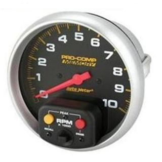 New Auto Meter Pro Comp In Dash 5 Monster Tachometer/Tach w/ Recall