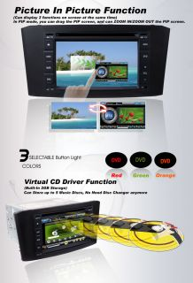 Toyota Avensis 2 DIN Car DVD Player GPS Navigation Radio TV Touch