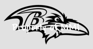 Baltimore Ravens Style 1 Vinyl Decal Window Car Wall Truck Man Cave