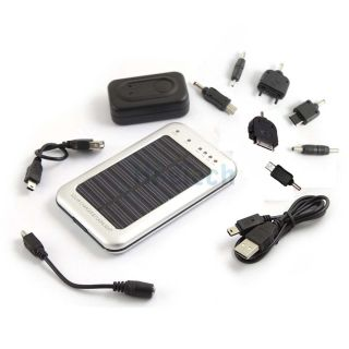 2600mAh Solar Power Panel Battery Charger for Mobile Phone/ iPhone/PDA