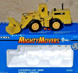 Ertl Mighty Movers CAT 988B Wheel Loader 8 150 #2435 Caterpillar