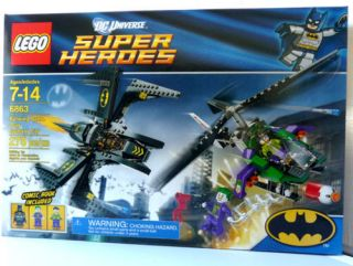 Lego DC Super Heroes 6863 Batman Batwing Battle Over Gotham City New