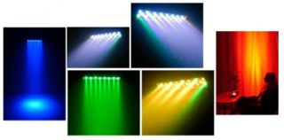Chauvet Colordash Batten Compact Linear LED Wash 12 Channel DMX with