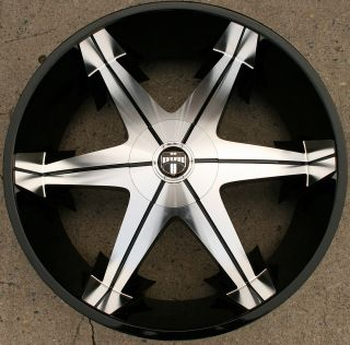 Dub Big Homie 3 26 Black Rims Wheels Crown Victoria 93 02 26 x 9 5 5H