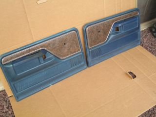 73 79 FORD truck bronco F 150 250 350 DOOR PANELS panel SET XLT