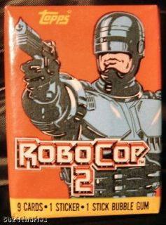 Robocop 2 Topps 1990 Movie Trading Cards Belinda Bauer