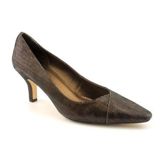 Bella Vita WOW Womens Size 11 Bronze Leather Pumps Classics Shoes