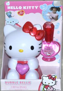 New Hello Kitty Sanrio Hand Held Bellie Bubble Maker
