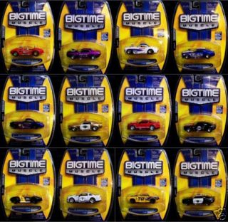 Jada Toys Big Time Muscle 1 64 Wave 13 Set of 12 Diecast Camaro Shelby