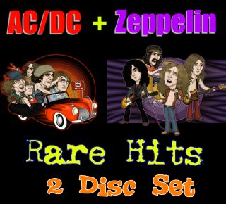 Karaoke CDG Led Zeppelin AC DC Steel Dragon Stevie Ray Benatar Rare