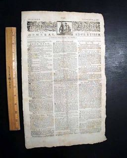 BENEDICT ARNOLD & John Paul Jones 1780 Revolutionary War PHILA. PA Old
