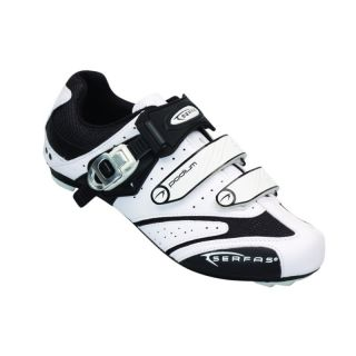 Serfas Mens Podium Road Cycling Shoes White 44