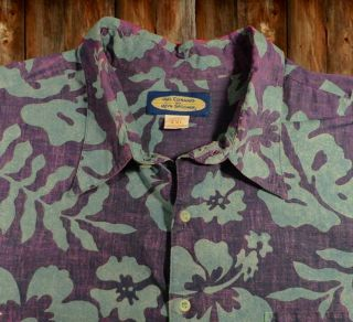 Spooner Mens Hawaiian Shirt Reverse Size XXL Phil Edwards
