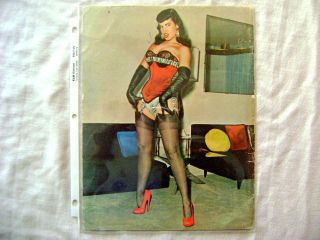 BETTIE BETTY PAGE FOCUS ON SELBEE ENEG BILBREW NUTRIX STANTON KLAW 50s