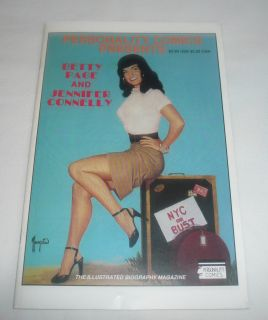 1991 comic book ~ BETTIE PAGE, JENNIFER CONNELLY (the movie Labyrinth)
