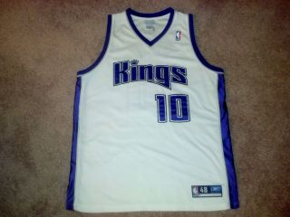 Mike Bibby NBA Authentic Sacramento Kings Jersey Size 48