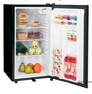 NEW 3.2 cu. ft. Black Compact Mini Refrigerator Fridge FREE SHIP small