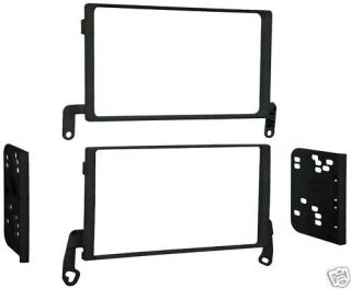 Metra 95 5818 1999 2004 Ford Super Duty Double DIN Dash Kit After