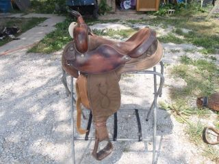 Big Horn Barrel Racing Lightweight Horse Saddle