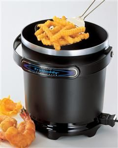 Presto 05420 Black Four Cup Frydaddy Electric Deep Fryer