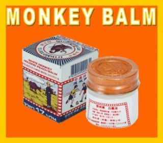 12g Monkey Thai Balm Pain Muscle Ache Mosquito Relief