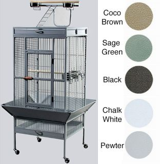 prevue pet products wrought iron select bird cage product description