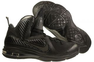 New Mens Nike Lebron 9 Basketball Shoes Black Black Anthracite 469764