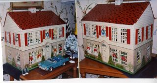 PLAYSTEEL TIN METAL DOLLHOUSE BLACKSBURG ROANOKE SALEM VIRGINIA TECH