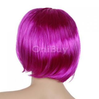 Gorgerous Bob Hair Wig Cosplay Party Halloween Costume