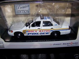 Boca Raton FL Police 2008 Ford Crown Vic Premier