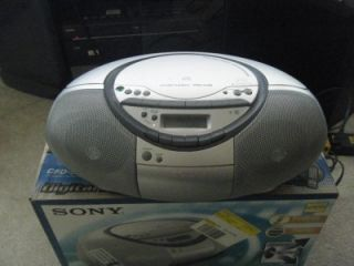 Sony CFD S350 CD Radio Cassette Player Recorder Boombox Stereo